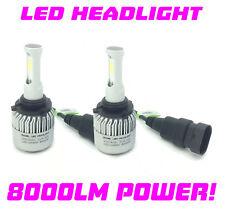 Fits Mitsubishi Evo 7 8 03-05 - HB4 9006 COB LED Headlight Bulbs Kit Canbus 100W