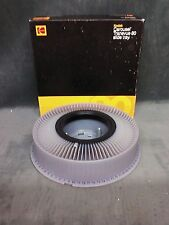 Kodak Carousel Transvue 80 Slide Tray B80T Vintage Original Box Very Good Cond