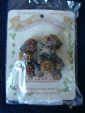 Boyd's Bears - Bearwear Pin - Marigold. Fall Is In The Air - Floral Collection