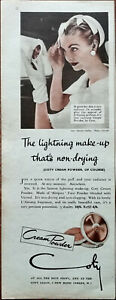 Coty Cream Powder It Gives Her Skin A New Radiance In Seconds Advertisement 1956
