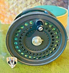 Rare Orvis CFO Salmon VI Fly Reel with Case & Sink Tip Spey Line