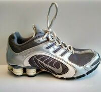 Nike Womens Shox Navina Silver Sparkle Running Shoes 337775-001 Size 9.5