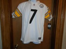 Ben Roethlisbeger Pittsburgh Steelers Youth Nike On Field Jersey Size M or L NWT