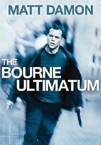 Bourne Ultimatum DVD Matt Damon Widescreen