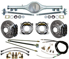 CURRIE 67-69 F-BODY MULTI-LEAF REAR END & WILWOOD DISC BRAKES,LINES,CABLES,AXLES