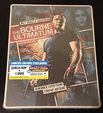 BOURNE ULTIMATUM ComicBook Blu-Ray & DVD SteelBook Limited Ed w/ iTunes & UV DC.