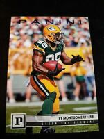2018 Panini Football Ty Montgomery Green Bay Packers Football Card