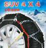 stabile Schneeketten 215/75 R 16 Off Road Wohnmobil Transporter 4116
