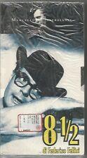 """VIDEOCASSETTA VHS """"8 1/2""""DI FEDERICO FELLINI, MARCELLO MASTROIANNI, BLISTERATA"""