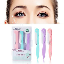 3X Trimmer Eyebrow Knife Facial Hair Removal Blade Razors Shaver Beauty Tool Hot