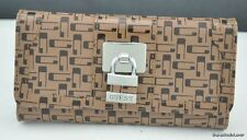 FREE Ship USA NWT Wallet GUESS Stunning Slg Brown New Ladies Lovely Stylish