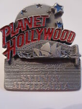 PLANET HOLLYWOOD SYDNEY AUSTRALIA pin OPREA HOUSE