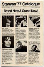 Rod McKuen Stanyan Spring/Summer 1977 Catalogue