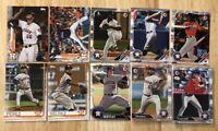 (x75) Cristian Javier - Framber Valdez - Tucker etc. Houston Astros (RC) Rookies