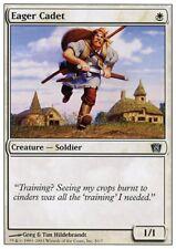 MTG 1x passionné Cadet - 8th Edition * soldier Presque comme neuf *