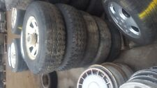 MAZDA BRAVO FORD COURIER SET OF 5 STEEL WHEELS AND TYRES