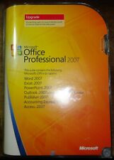 Genuine Retail Microsoft Office 2007 Professional Full w/ Key - Upgrade Version
