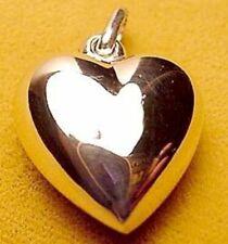 Colgantes de joyería de metales preciosos sin piedras, amor y corazones