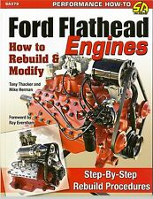 Ford Flathead Engines - How To Rebuild And Modify - Book SA379