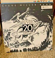 Steve Miller Band Living In The 20th Century Vinyl LP Vintage 1986  NM VINYL