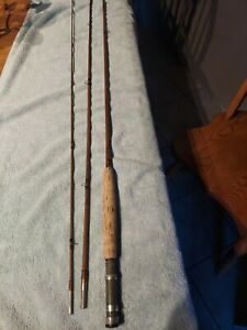 "Heddon #13, 3 Piece, 9' 2.5"" Bamboo Fly Rod"