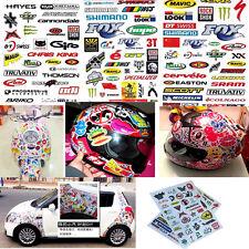 3 Sheet Car Bicycle Cycling Sticker MTB Bike Skateboard Decal DIY Stickers