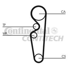 CT729 CONTITECH TIMING BELT (Ford 1.4,1.6 CVH 90-) NEW O.E SPEC!