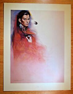 Ozz Franca Signed Print Cecy # 940 / 1500 Southwest Native American Art