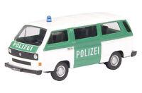 """VW T3 bus """"Polizei"""" - 1:87 / H0 Gauge - Schuco (25611)"""