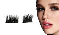 Magnetic Mink False Eyelashes Mink Wispy Cross Long Thick Soft Fake Eye Lashes
