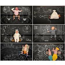 45 x 200cm Chalkboard Blackboard Whiteboard Wall Sticker Dry Adhesive Kids Room