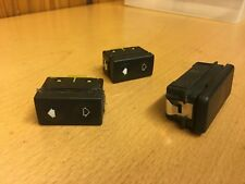 BMW E36 3 series Coupe Saloon Pair of Front Window Switches & Hazard 8368941