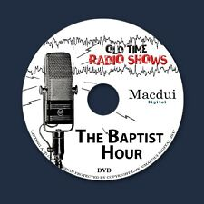 Baptist Hour Old Time Radio Shows Historical 2 OTR MP3 Audio Files on 1 Data DVD
