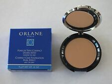 A LOT OF 2 ORLANE COMPACT CAKE FOUNDATION DUAL EFFECT WET/DRY 05 AMBRE NIB