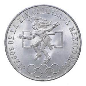 SILVER - WORLD COIN - 1968 Mexico 25 Pesos - World Silver Coin *958