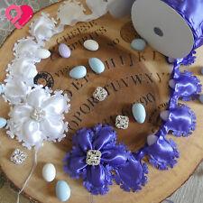 Butterfly Flower Pull Bow Ribbon Pouch Jordan Almond Holder Party Wedding Favor