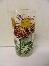"""Boscul  Peanut Butter Glass Marigold  Flower 5"""""""