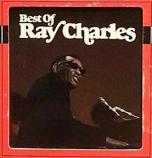 RAY CHARLES Best Of 1968 ? MCP 8 Track Tape Cartridge Blues w/Original Box VGC