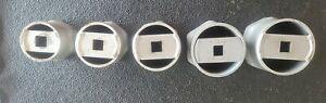 KD, OTC, 1/2 Dr 6 Pt Axle Locknut Wheel Bearing Socket Set 2-9/16 To 3-13/16