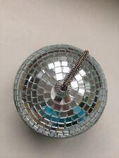 Spiegelkugel 5 cm Diskokugel Mirrorball Discokugel Echtglasfacetten
