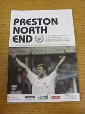 20/09/2008 Preston North End v Wolverhampton Wanderers  (Excellent Condition)