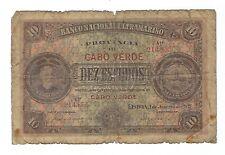 Cape Verde - 1921, Ten (10) Escudos