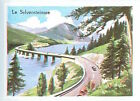 IMAGE CARD 60s Germany Bavaria Le Sylvensteinsee Sylvenstein Dam