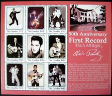2004 MNH GAMBIA ELVIS STAMPS SHEET ELVIS PRESLEY THE KING MUSICIAN ENTERTAINER