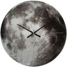 Karlsson Wanduhr Glass Moon