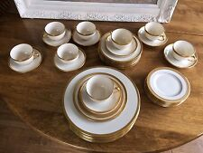 Vintage Lenox China Dinner Service for 8- 5 piece place setting-42 pieces Extras
