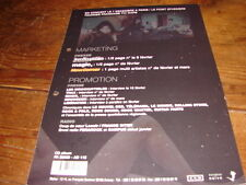 4AD / CASS MCCOMBS PREFECTION!!!!!RARE FRENCH PRESS/KIT