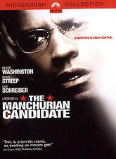 The Manchurian Candidate - Denzel Washington, Meryl Streep  (DVD 2004) R Color