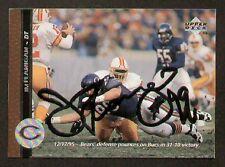 Jim Flanigan signed autographed Football Card Bears