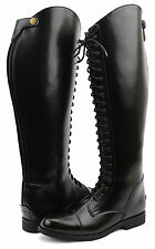 Hispar Men's Man FLORANCE English Field Horse Motorcycle Riding Boots Equestrian
